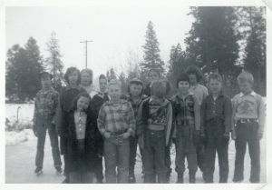 Mica School children 1950 - 1951 class