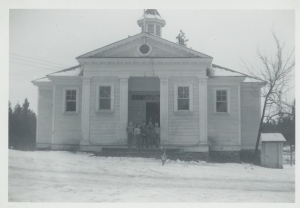 The School House 1948 to 1951.