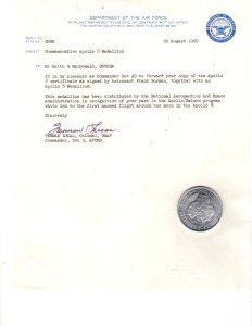 Apollo Medallion