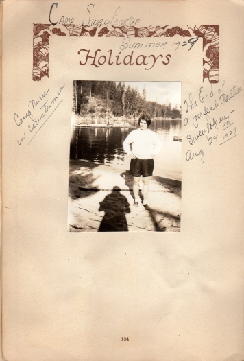 Eddie at camp 1929