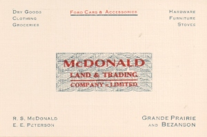 Grand Prairie Postcard - McDonald Trading Co.