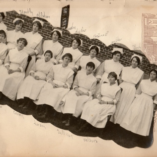 1928 Class Nurses - Eddie in