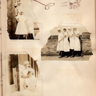 Nurses posing