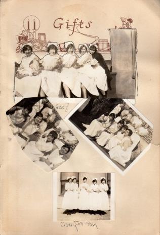 More nurses in groups - Eddie top photo right in cape