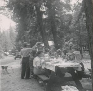 Lake Wenatchee picnic