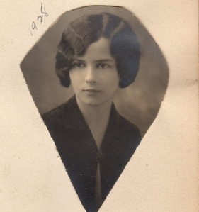 Miriam in 1928 - a work photo