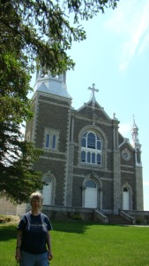 St. Alphonsus Catholic Church and me 2012